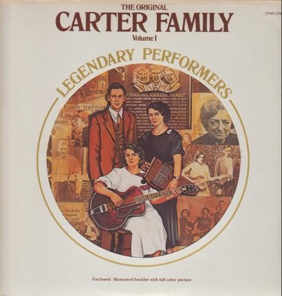 #<Artist:0x00007fcee2ed60d0> - The Original Carter Family Legendary Performers, Volume 1