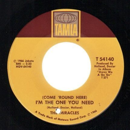 #<Artist:0x00007f91d872ea40> - (Come 'Round Here) I'm The One You Need
