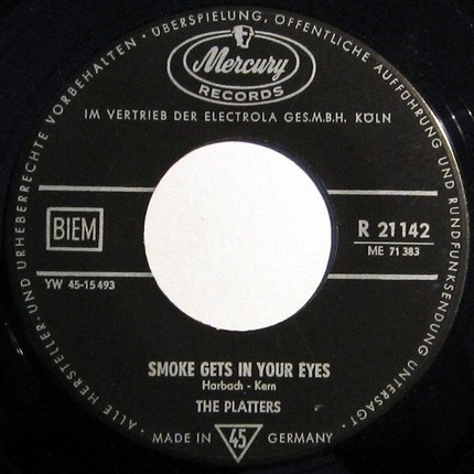 #<Artist:0x00007f8fe5927710> - Smoke Gets In Your Eyes / No Matter What You Are
