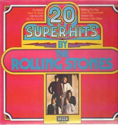 #<Artist:0x00007f0b190f4bc0> - 20 Super Hits By The Rolling Stones