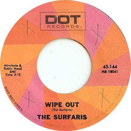 #<Artist:0x00007fb2726960c8> - Wipe Out / Surfer Joe