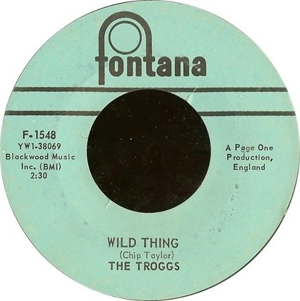 #<Artist:0x00007fcec3084fc8> - Wild Thing / From Home