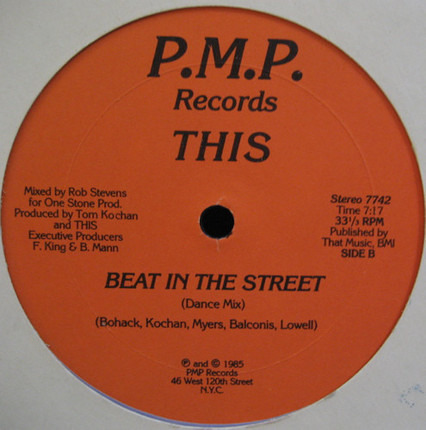 #<Artist:0x00007f5eb42e1a70> - Beat In The Street