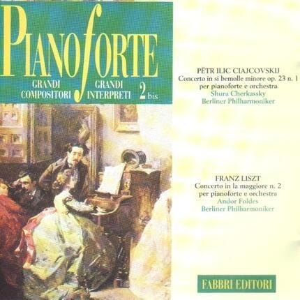 #<Artist:0x00007fcee1586f80> - Piano Concerto No. 1 op. 23 / Piano Concerto No. 2