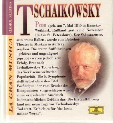 #<Artist:0x00007fafce25c6e8> - Schwanensee-Suite / Sinfonie Nr. 6 h-moll 'Pathétique'