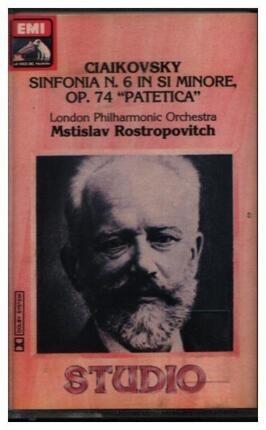 #<Artist:0x00007f55fd69a3e8> - Sinfonia N. 6 In Si Min, Op. 74 'Patetica'