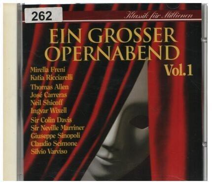 #<Artist:0x00007f740e7f92f0> - Ein Grosser Opernabend Vol. 1