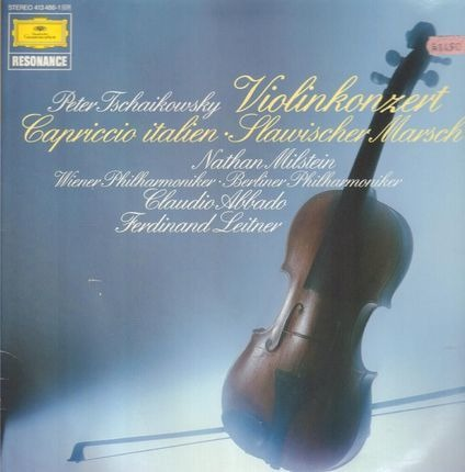#<Artist:0x00007f740d674610> - Violinkonzert / Capriccio italien / Slawischer Marsch