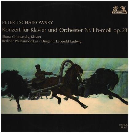 #<Artist:0x00007f412d9bada0> - Konzert für Klavier und Orchester Nr. 1 b-moll op.23