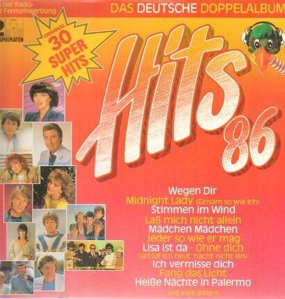 #<Artist:0x00007f1a5e50c8f8> - Hits '86 - Das Deutsche Doppelalbum