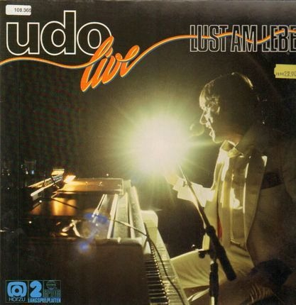#<Artist:0x00007fd5e243ed78> - Udo Live - Lust Am Leben