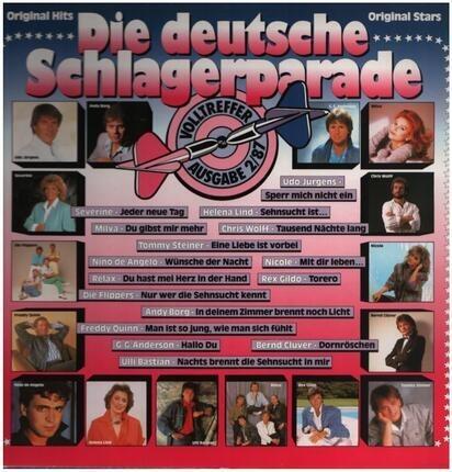 #<Artist:0x00007fe4a6698f88> - Die Deutsche Schlagerparade 2/87