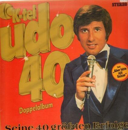 #<Artist:0x00007ff00d38eaf0> - Udo 40 - Seine 40 Größten Erfolge