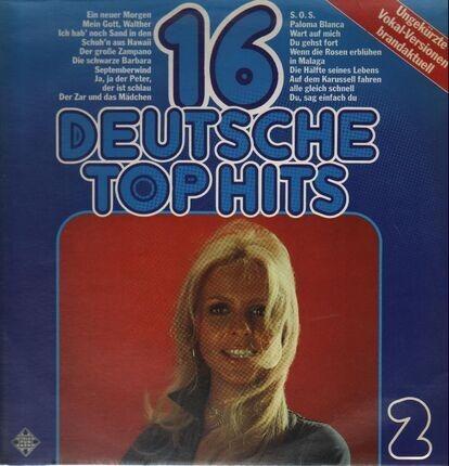 #<Artist:0x00007fee46247020> - 16 Deutsche Top Hits, Folge 2