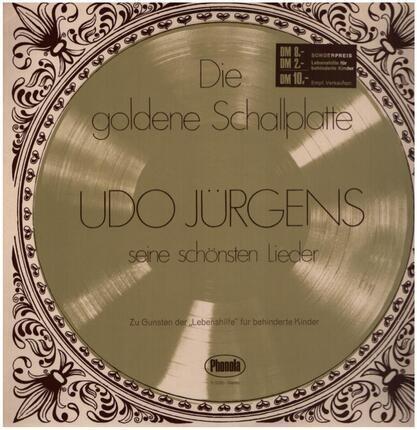 #<Artist:0x00007f131cca11e8> - Die Goldene Schallplatte - Seine Schönsten Lieder