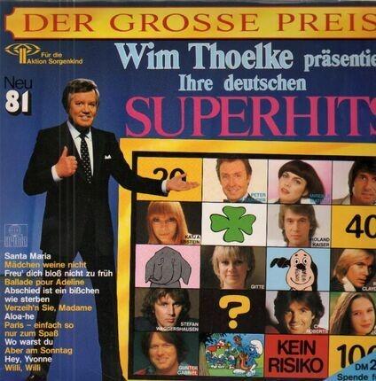 #<Artist:0x00007fc566a55450> - Der Grosse Preis - Deutsche Superhits Neu '81