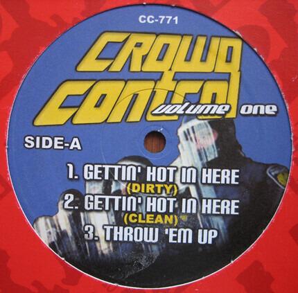 #<Artist:0x00007fa4521d3280> - Crowd Control Volume One