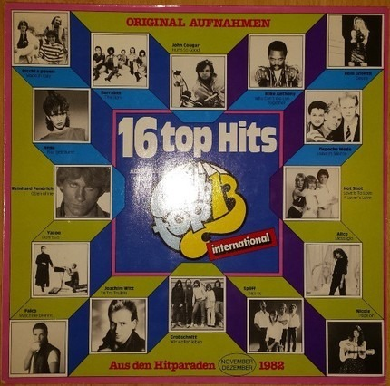 #<Artist:0x00007fcda5652398> - 16 Top Hits - November/Dezember 82