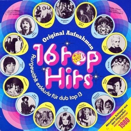 #<Artist:0x00007fb64cc082a8> - 16 Top Hits - Aktuellste Schlager Aus Den Hitparaden Januar/Februar 1980