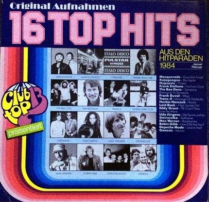 #<Artist:0x00007f0bb9f1d468> - 16 Top Hits - Aus Den Hitparaden Januar / Februar 1984