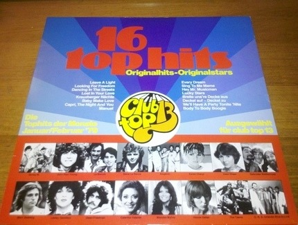 #<Artist:0x00007fabc5028ed8> - 16 Top Hits - Tophits Der Monate Januar/Februar '79