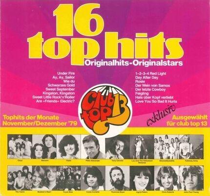 #<Artist:0x00007f4fa85a4980> - 16 Top Hits - Tophits Der Monate November/Dezember '79