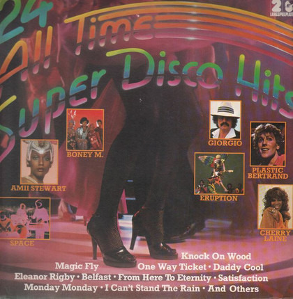 #<Artist:0x00007f412c707578> - 24 all time super disco hits