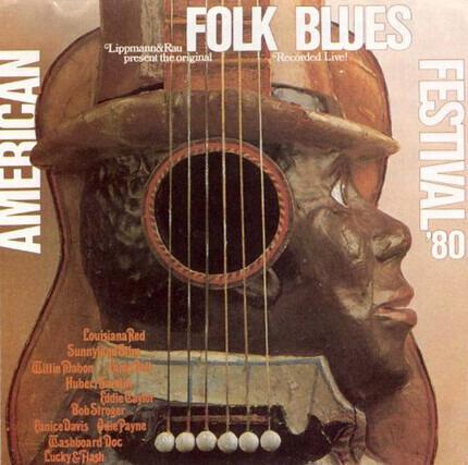 #<Artist:0x00007f60e27237e8> - American Folk Blues Festival '80