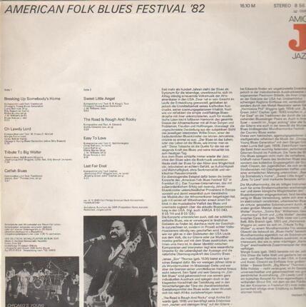 #<Artist:0x00007f4aa53e2eb0> - American Folk Blues Festival '82