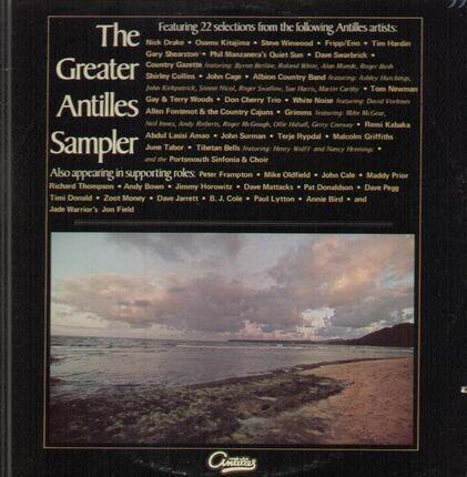 #<Artist:0x00007efc35c1d2d8> - The Greater Antilles Sampler