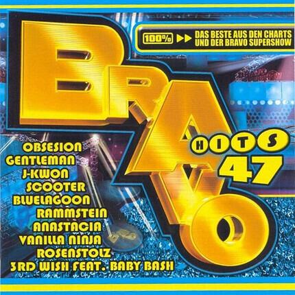 #<Artist:0x000000000868fa08> - Bravo Hits 47