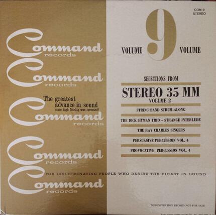 #<Artist:0x00007f2e21256e70> - Command Records Volume 9