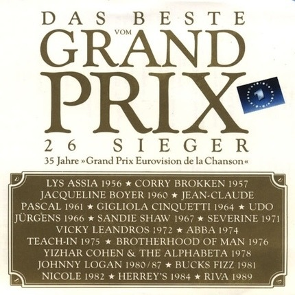 #<Artist:0x00007feb90c6a600> - Das Beste Vom Grand Prix 26 Sieger - 35 Jahre >Grand Prix Eurovision De La Chanson <