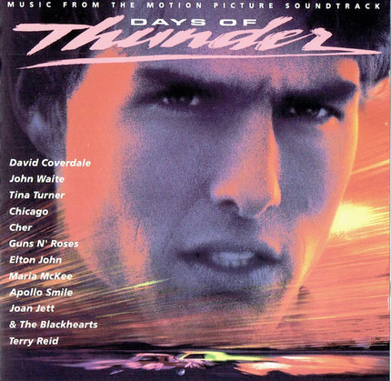 #<Artist:0x00007f412fa9d4f0> - Days Of Thunder (Music From The Motion Picture Soundtrack)