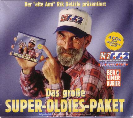 #<Artist:0x00007f1a5e10a0e8> - Der 'Alte Ami' Rik DeLisle Präsentiert: Das Große Super-Oldies-Paket