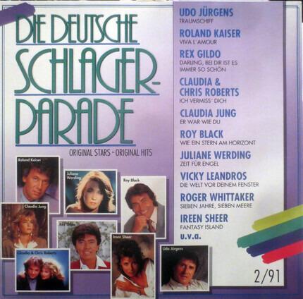 #<Artist:0x00007ff9a38311f8> - Die Deutsche Schlagerparade 2/91