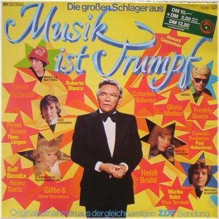 #<Artist:0x00007f1a11ce2cc8> - Die Großen Schlager Aus 'Musik Ist Trumpf'