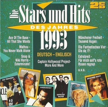 #<Artist:0x00007f4aa4aff118> - Die Stars Und Hits Des Jahres 1993