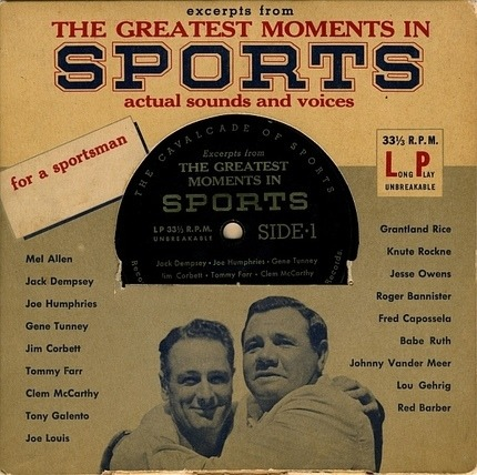 #<Artist:0x00007f2972c5d7b0> - Excerpts From The Greatest Moments In Sports