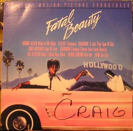 #<Artist:0x00007f83beaf02a0> - Fatal Beauty (Original Motion Picture Soundtrack)