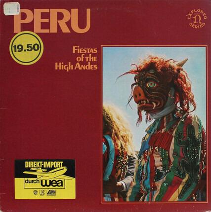 #<Artist:0x00007fb31b0b86e8> - Fiestas Of Peru: Music Of The High Andes