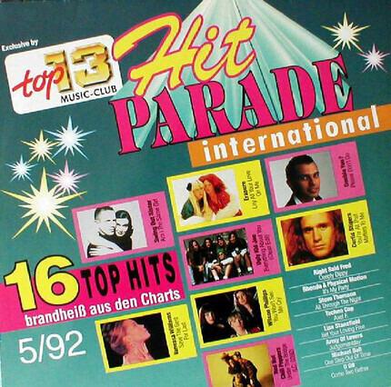 #<Artist:0x00007fd0330f2fc0> - Hit Parade International 5/92