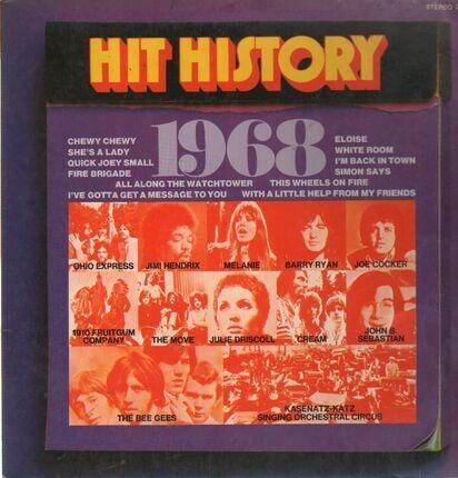 #<Artist:0x00007f412e863c30> - Hit History 1968