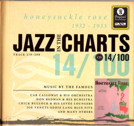 #<Artist:0x00007f60e4920c10> - Jazz In The Charts 14/100  Honeysuckle Rose  1932 - 1933  (Track 279 - 299)