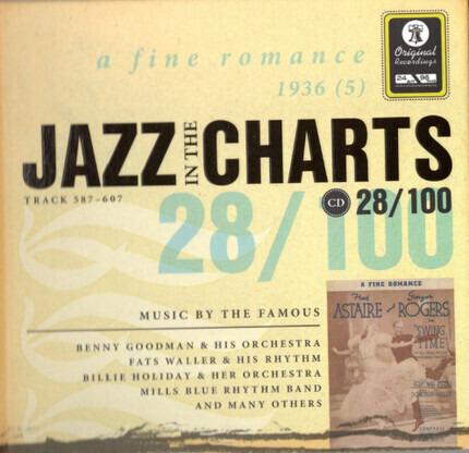 #<Artist:0x00007f60e2d68d10> - Jazz In The Charts 28/100 - A Fine Romance (1936 (5))