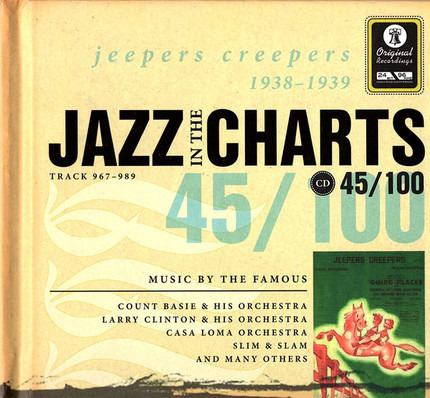 #<Artist:0x00007f73efcbb3c0> - Jazz In The Charts 45/100  Jeepers Creepers 1938 - 1939