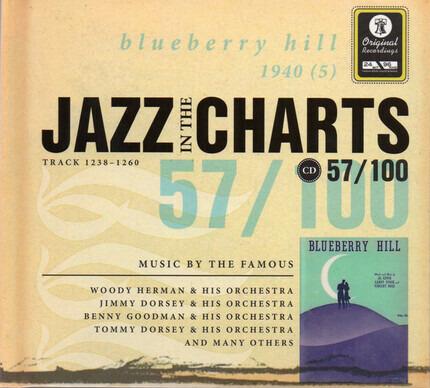 #<Artist:0x00007f60e3e58e18> - Jazz In The Charts 57/100 (Blueberry Hill 1940 (5)