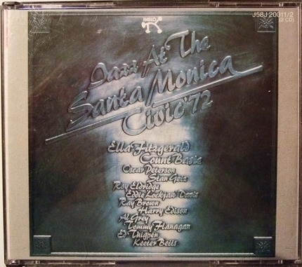 #<Artist:0x00007f3d06764360> - Jazz At The Santa Monica Civic '72