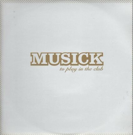 #<Artist:0x00007fe2e444a308> - Musick - To Play In The Club