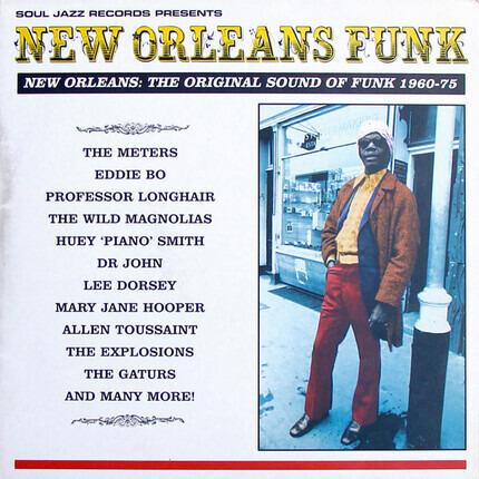 #<Artist:0x00007f91d9ce2990> - New Orleans Funk: The Original Sound Of Funk 1960-75